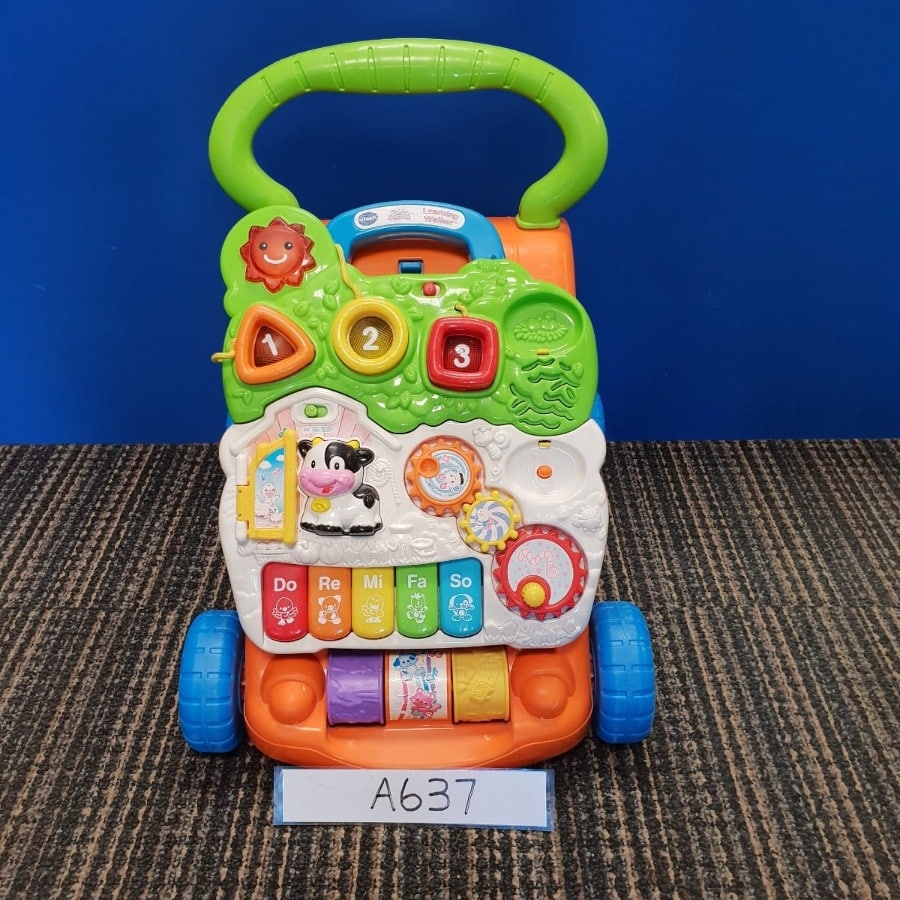 V-Tech Sit-to-Stand Learning Walker - Multi-Coloured