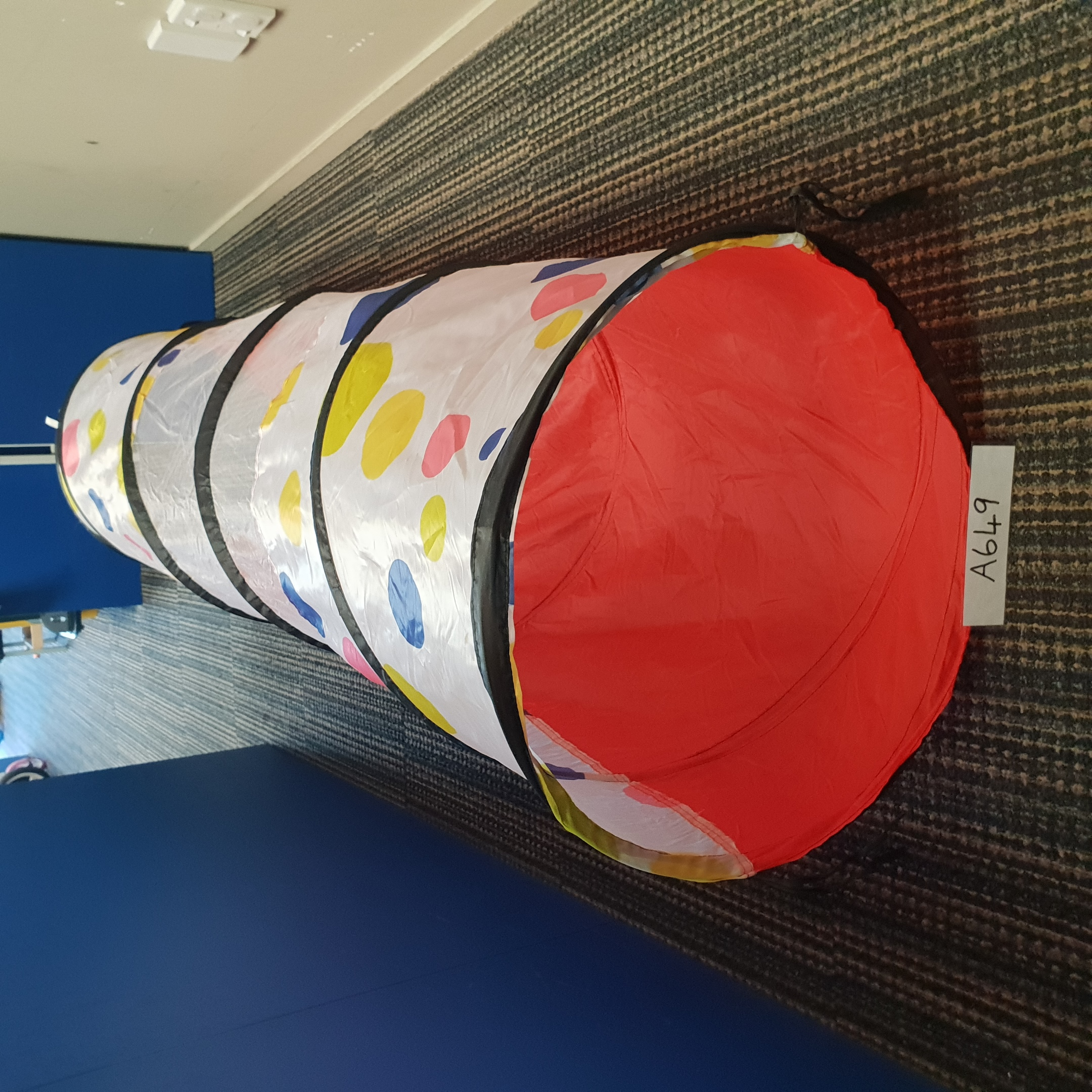 Outdoor/Indoor Tunnel - Polka Dot & Mesh