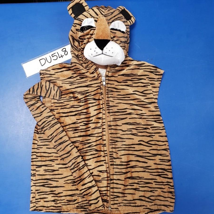 Tiger Hooded Vest Dress-Up