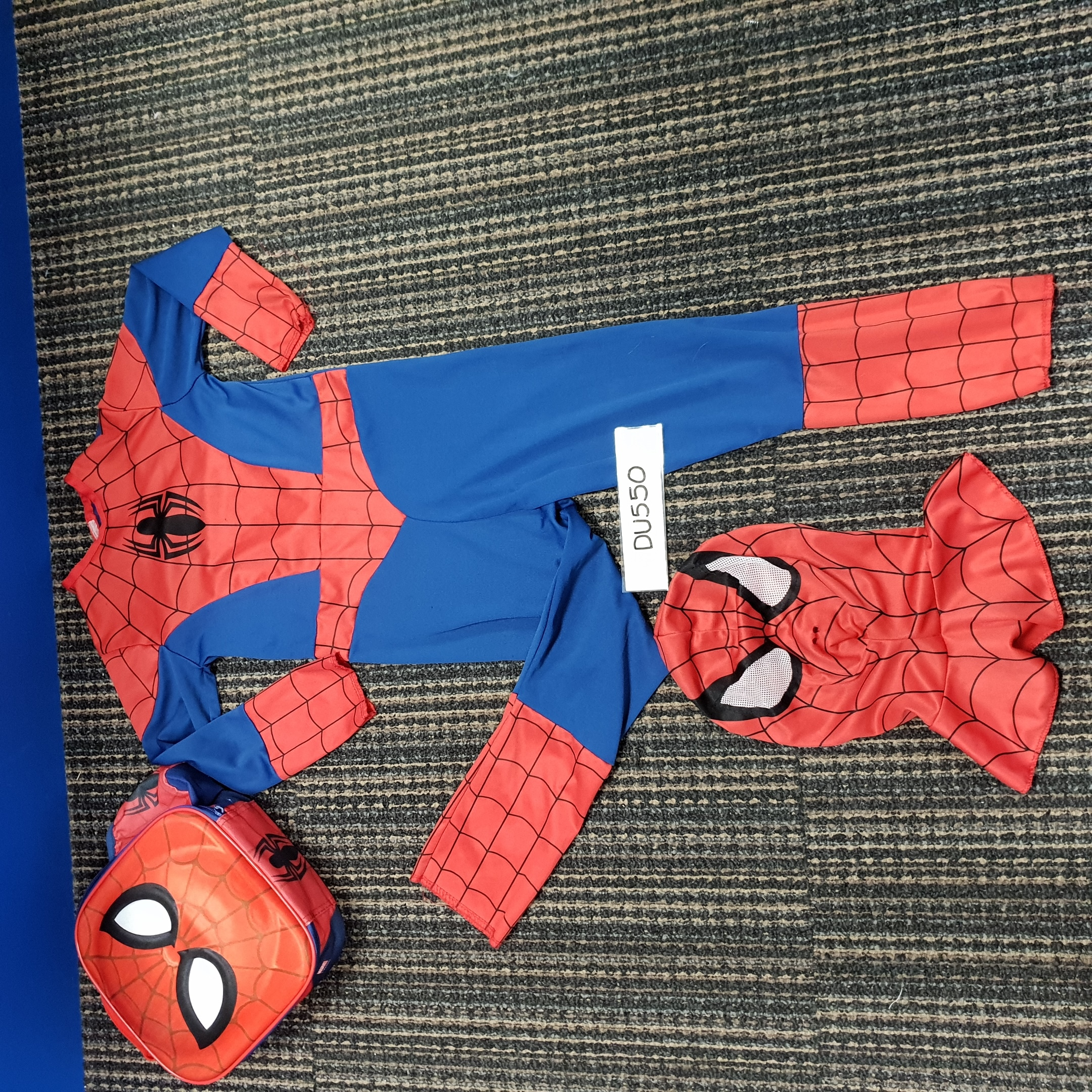 Spider-Man Costume With Carry Case